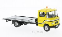 1/43 CAMION MINIATURE DE COLLECTION Mercedes L608 D jaune-1980-IXOMODELSIXOCLC209