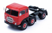 1/43 CAMION MINIATURE DE COLLECTION TRACTEUR Fiat 695 T1 rouge/noir-1961-IXOMODELSIXOTR027