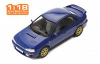 1/18 VOITURE MINIATURE DE COLLECTION Subaru Impreza bleu-1995-IXOMODELSIXO18CMC002