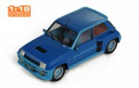 1/18 RENAULT 5 VOITURE MINIATURE DE COLLECTION RENAULT 5 TURBO 1 1981-BLEU-IXOMODELSIXO18CMC005