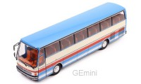 1/43 AUTOBUS/AUTOCARS MINIATURE DE COLLECTION Setra S215 HD beige/rouge-1976-IXOMODELSIXOBUS012