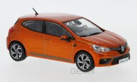 1/43 RENAULT VOITURE MINIATURE DE COLLECTION Renault Clio RS Line orange-2019-IXO Premium-XIXOPRD594