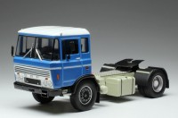 1/43 CAMION DAF MINIATURE DE COLLECTION TRACTEUR DAF 2600 1970 BLEUE-IXOMODELSIXOTR050