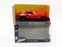 1/32 CHEVROLET CORVETTE - LETTY FAST AND FURIOUS-ROUGE-JADA TOYS 98306R