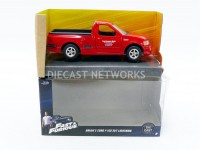 1/32 FORD F150 SVT LIGHTNING - BRIAN FAST AND FURIOUS-ROUGE-JADA TOYS-98320R