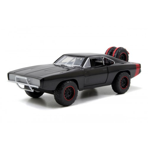 1 24 voiture miniature dodge charger r t off road noir fast furious 7 1970 jadajda97038. Black Bedroom Furniture Sets. Home Design Ideas