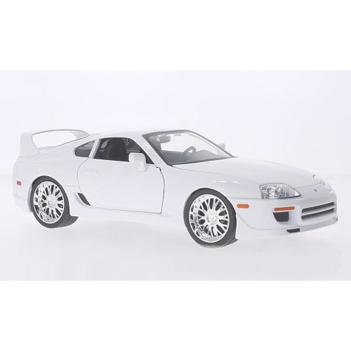 1 18 voiture miniature toyota supra blanc fast furious 1995 jadajda97509 vente de voitures. Black Bedroom Furniture Sets. Home Design Ideas