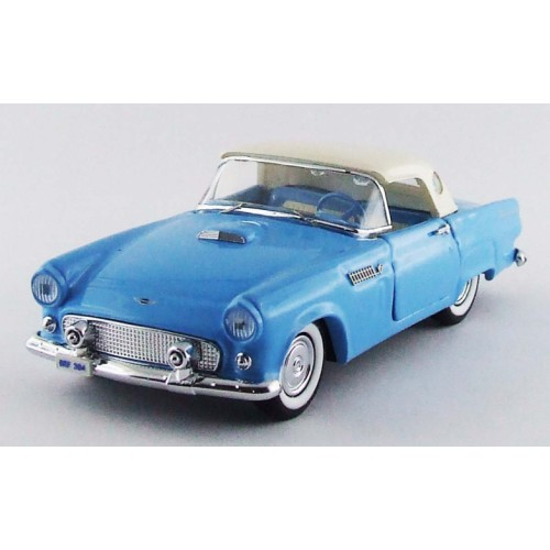 1 43 voiture miniature de collection ford thunderbird bleu. Black Bedroom Furniture Sets. Home Design Ideas