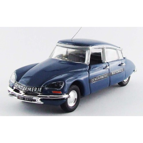 1 43 voiture miniature de collection citroen ds 21 gendarmerie 1972 rio vente de voitures. Black Bedroom Furniture Sets. Home Design Ideas