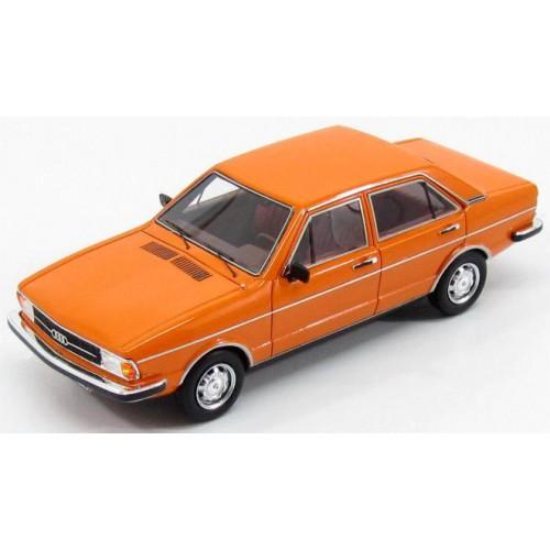 1 43 voiture miniature de collection audi 80 b1 2s 4portes orange 1976 kess vente de voitures. Black Bedroom Furniture Sets. Home Design Ideas