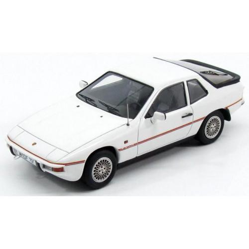 1 43 voiture miniature de collection porsche 924 le mans blanc alpin 1982 kess vente de. Black Bedroom Furniture Sets. Home Design Ideas