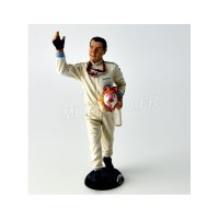 1/18 FIGURINE MINIATURE DE COLLECTION FIGURINE JACK BRAHBAM-LE MANS MINIATURESFLM118029