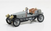 1/43 VOITURE MINIATURE DE COLLECTION CABRIOLET Spyker 60HP racing gris-1903-MATRIXMAXLM02-1806