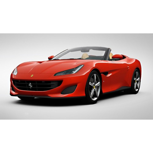 1 18 voiture miniature de collection ferrari portofino cabriolet rouge scuderia 2017. Black Bedroom Furniture Sets. Home Design Ideas
