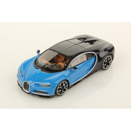 1 12 voiture miniature bugatti chiron le patron bleu clair bugatti sport 2016 looksmart. Black Bedroom Furniture Sets. Home Design Ideas