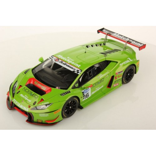1 18 voiture miniature de collection lamborghini huracan gt3 monza 2016 looksmart vente de. Black Bedroom Furniture Sets. Home Design Ideas
