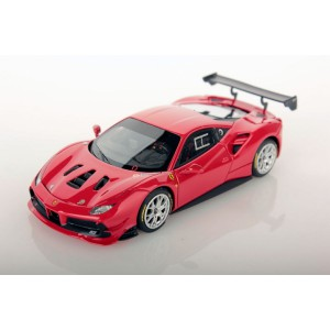 1/43 FERRARI VOITURE MINIATURE DE COLLECTION Ferrari 488 Challenge rouge course-2017-LOOKSMARTLOOLS476B