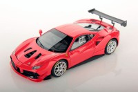 1/43 VOITURE MINIATURE DE COLLECTION Ferrari 488 Challenge rouge Scuderia-2017-LOOKSMART476C