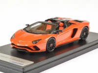 1/43 LAMBORGHINI CABRIOLETS VOITURE MINIATURE DE COLLECTION Lamborghini Aventador S Roadster orange Argos-2017-LOOKSMARTLOOLS482F
