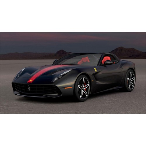 1 18 voiture miniature de collection ferrari f60 america noir mat 2014 looksmartlools18 010d. Black Bedroom Furniture Sets. Home Design Ideas