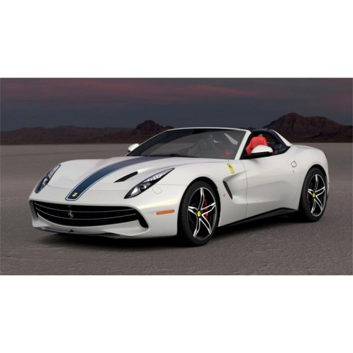 1 18 voiture miniature de collection ferrari f60 america blanc italien 2014 looksmartlools18. Black Bedroom Furniture Sets. Home Design Ideas
