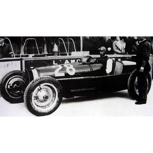 1 18 voiture miniature formule 1 bugatti type 59 gp 1933. Black Bedroom Furniture Sets. Home Design Ideas