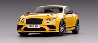 1/43 VOITURE MINIATURE DE COLLECTION Bentley Continental Supersports jaune Monaco métallisé-2017-LOOKSMARTLOOLSBT012C