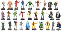 LOT DE 28 FIGURINES MARVEL COLLECTION EAGLEMOSS EN PLOMB