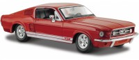 1/24 VOITURE MINIATURE DE COLLECTION Ford Mustang GT couleurs variables-1967-MAISTOMAI31260