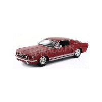 1/24 VOITURE MINIATURE DE COLLECTION FORD MUSTANG GT 1967 ROUGE-MAISTO31260RD