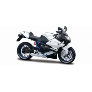 1/12 MOTO MINIATURE DE COLLECTION BMW R1200 HP2 sport blanche/noire-MAISTOMAIP31159