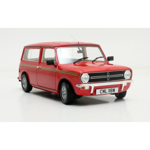 1 18 voiture miniature de collection mini clubmann break rouge 1974 cult models vente de. Black Bedroom Furniture Sets. Home Design Ideas