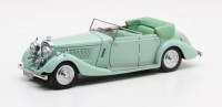 1/43 VOITURE MINIATURE Bentley 4.25L tourer by Thrupp & Maberly cabriolet vert-1937-MATRIX