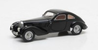 1/43 VOITURE MINIATURE DE COLLECTION Bugatti Type 57 Guillore noir-1937-MATRIX