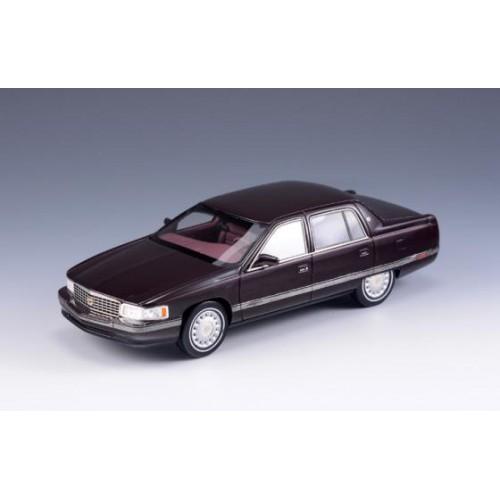 1 43 voiture miniature de collection cadillac deville marron 1994 glm vente de voitures. Black Bedroom Furniture Sets. Home Design Ideas