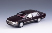 1/43 VOITURE MINIATURE DE COLLECTION Cadillac Deville marron-1994-GLM