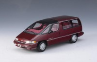 1/43 VOITURE MINIATURE DE COLLECTION Chevrolet Lumina APV rouge métallisé-1994-GLMGLM102602
