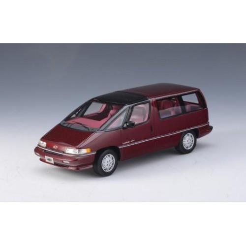 1 43 voiture miniature de collection chevrolet lumina apv rouge m tallis 1994 glm vente de. Black Bedroom Furniture Sets. Home Design Ideas