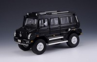 1/43 VOITURE MINIATURE 4X4 DE COLLECTION Mercedes Unimog U5000 noir-GLM