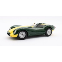 1/18 LISTER VOITURE MINIATURE DE COLLECTION Lister Jaguar vert/jaune-1958-MATRIXMAXL1001-011