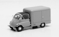 1/43 VEHICULES UTILITAIRE FRIGORIFIQUE MINIATURE DE COLLECTION Iso Isetta Carro furgon gris-1957-MATRIXMAX30905-021