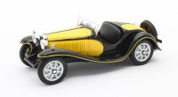 1/43 BUGATTI VOITURE MINIATURE DE COLLECTION BUGATTI T55 ROADSTER JAUNE/NOIR 1932-MATRIXMAX40205/071