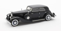 1/43 VOITURE Duesenberg JN 559-2587 Long wheel base Rollston/bohman & Schartz bleu-1935-MATRIXMAX50406-022