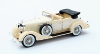 1/43 VOITURE MINIATURE DE COLLECTION Hispano Suiza H6C Hibbard & Darrin #12036 cabriolet beige-1928-MATRIXMAX50806-051