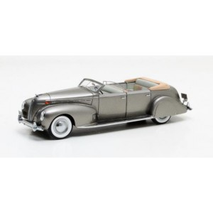 1/43 VOITURE MINIATURE  Lincoln Model K LeBaron cabriolet argent-1938-MATRIX51206-041