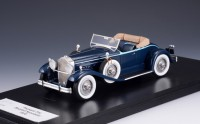 1/43 VOITURE MINIATURE DE COLLECTION CABRIOLET Packard 734 Boattail speedster bleu-1930-GLM141101