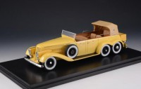 1/43 VOITURE MINIATURE Hispano Suiza H6A Victoria town car cabriolet jaune-GLM43215001