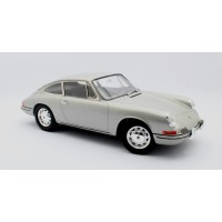 1/6 PORSCHE VOITURE MINIATURE DE COLLECTION Porsche 911 argent-1964-MATRIXMAXXXL01-1
