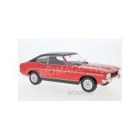 1/18 FORD VOITURE MINIATURE FORD CAPRI MKI 1973 ROUGE/NOIR-MODEL-CAR GROUPMCG18083