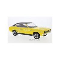 1/18 FORD VOITURE MINIATURE FORD CAPRI MKI 1973 JAUNE/NOIR-MODEL-CAR GROUPEMCG18085